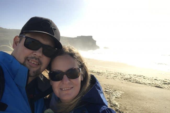 At Praia do Norte, Nazaré